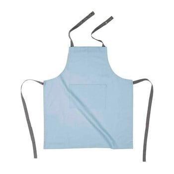 Șorț de bucătărie din bumbac Tiseco Home Studio, albastru deschis de la Tiseco Home Studio