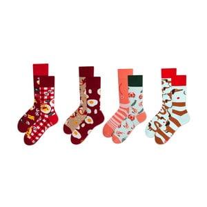 Sada 4 párů ponožek v dárkovém balení Many Mornings Italiana, vel. 43–46