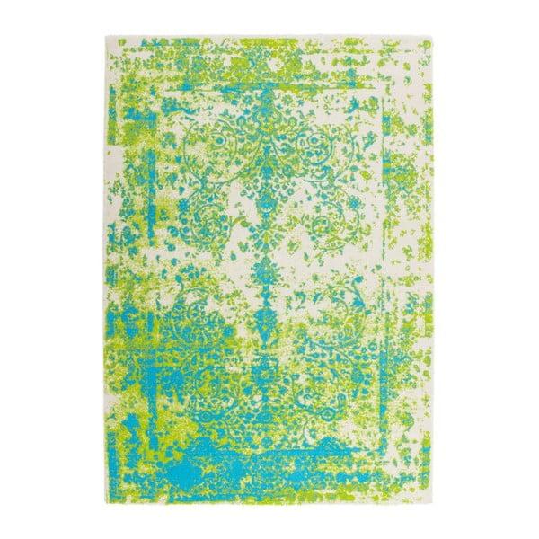 Koberec Aztec 494 Green Blue, 120x170 cm