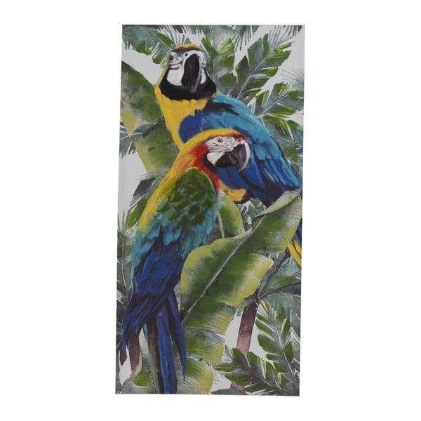 Pictură pe pânză Geese Modern Style Parrot Quatro, 60 x 120 cm