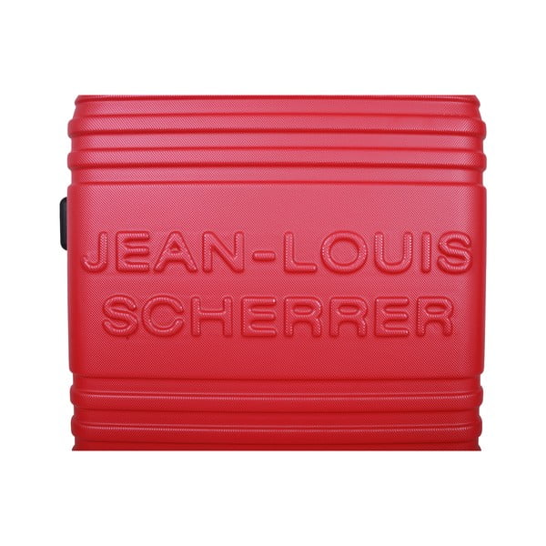 Sada 3 kufrů Jean Louis Scherrer Trolley Red