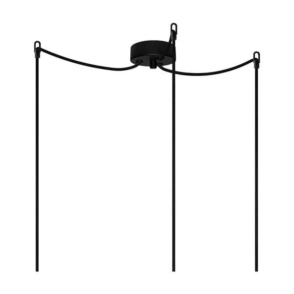 Tři závěsné kabely Bulb Attack, měděná/černá/černá
