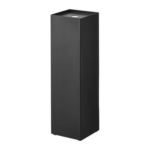 Czarny stojak na papier toaletowy YAMAZAKI Tower