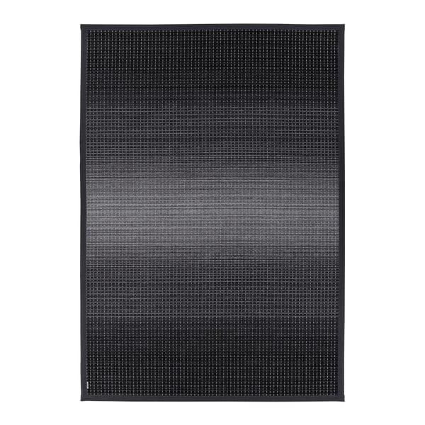Moka Carbon antracitszürke kétoldalas szőnyeg, 80 x 250 cm - Narma