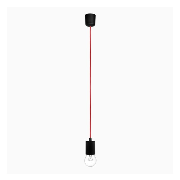 Závěsný kabel Cero, červený/černý