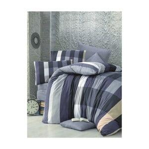 Lenjerie de pat cu cearșaf Cigdem, 160 x 220 cm