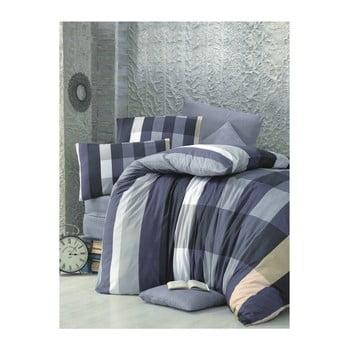 Lenjerie de pat cu cearșaf Cigdem, 160 x 220 cm de la Victoria