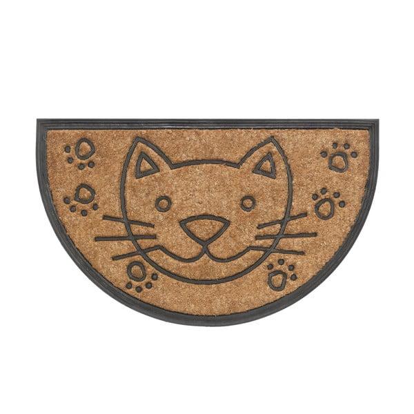 Rohožka Hamat Cat halfround, 45x75cm