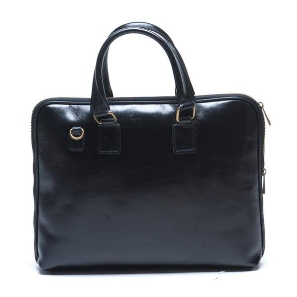 Kožená kabelka Mangotti 375, černá