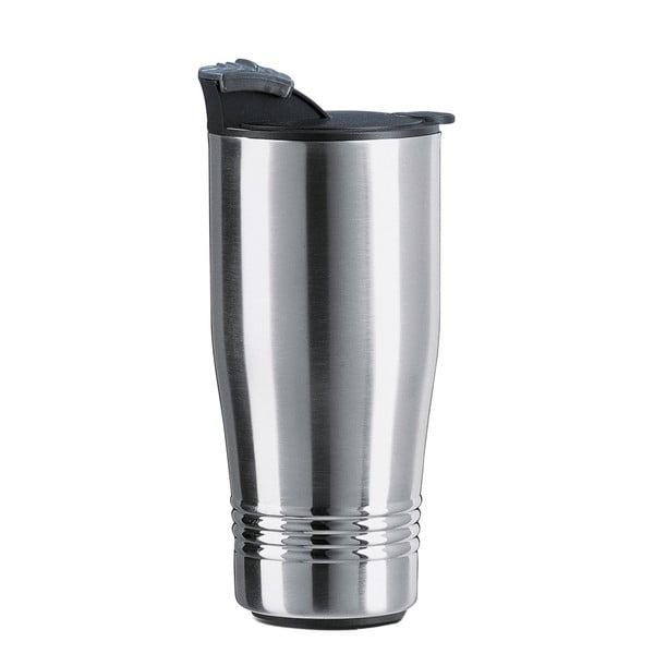 Cestovní termohrnek Senator Silver, 400 ml