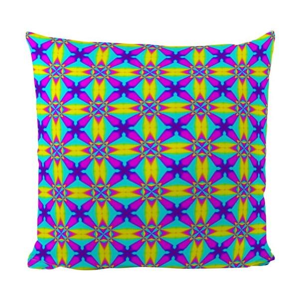 Polštář Neon Kaleidoscop, 50x50 cm