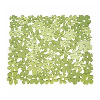 Protecție pentru chiuvetă InterDesign Blumz, verde de la iDesign