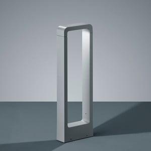 Světle šedé venkovní stojací svítidlo Trio Reno, 50 cm