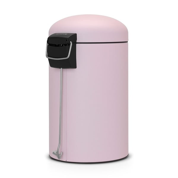 Pedálový koš Retro Bin, 12 l, matný mineral pink