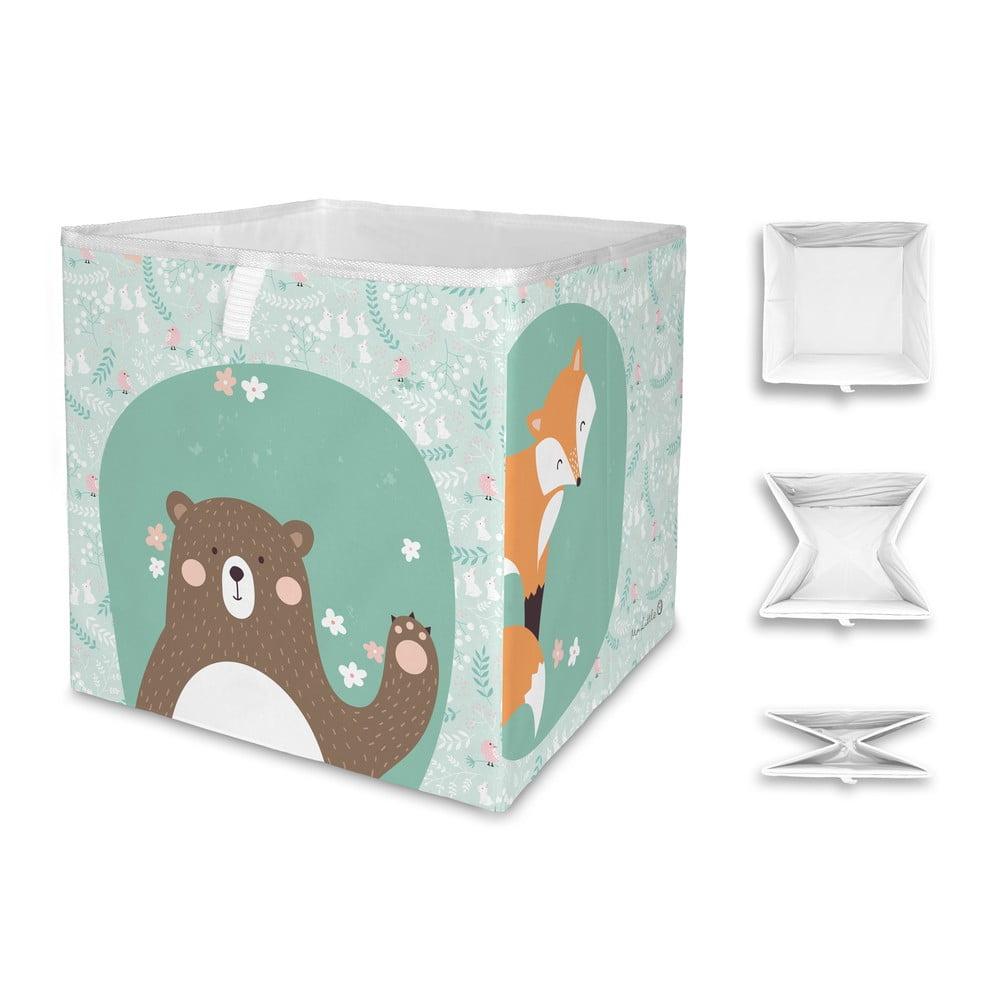 Dětský úložný box Mr. Little Fox Close Friends Dark