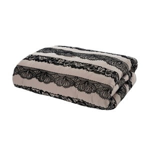 Přehoz přes postel Glamour Flock Lace, 220x230 cm