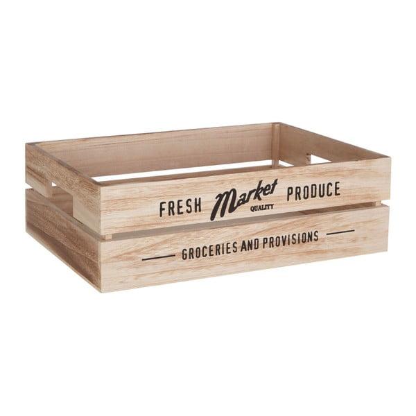 Skrzynka drewniana na warzywa Premier Housewares Farmers Market, 28x38 cm