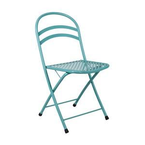 Bledě modrá skládací židle Crido Consulting Aqua