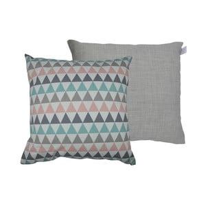 Sada 2 polštářů s výplní Karup Deco Cushion Pastel Trinity/Light Grey,45 x 45 cm