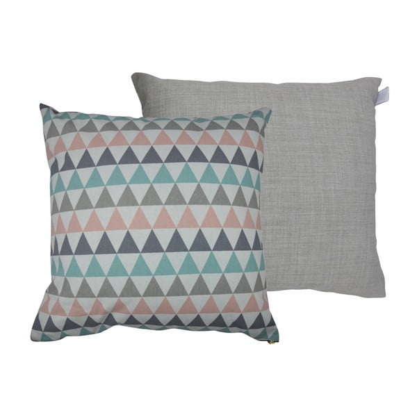 Set 2 perne Karup Deco Cushion Pastel Trinity/Light Grey, 45 x 45 cm
