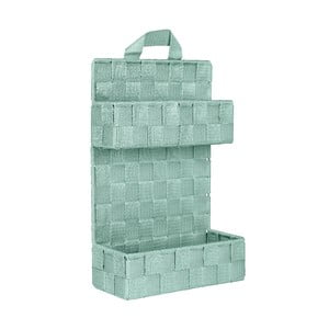 Zelený dvojitý koupelnový organizér Wenko Adria