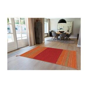 Červený ručně vyráběný bavlněný koberec Arte Espina Navarro 2920, 170x230cm