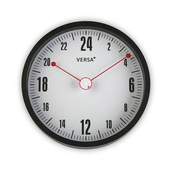 Ceas rotund de perete Versa Miriam, ø 30 cm, negru de la Versa