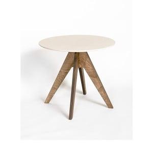 Stůl Edi Dark Brown, 85 cm