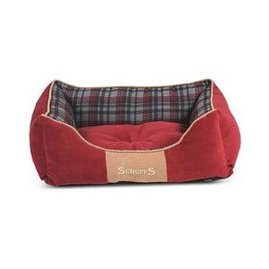 Psí pelíšek Highland Bed 50x40 cm, červený