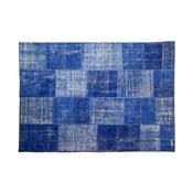 Vlněný koberec Allmode Blue, 150x80 cm