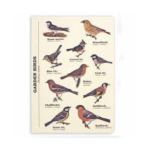 Agendă Gift Republic Garden Birds, A5