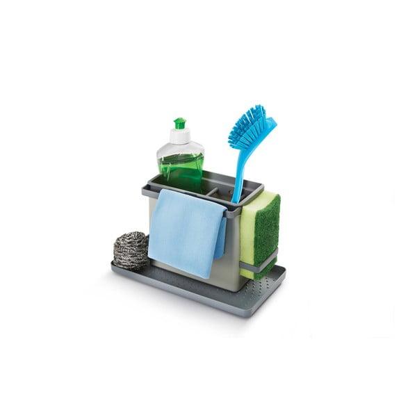 Tidytex mosogató tisztítóeszköz-tartó - Metaltex