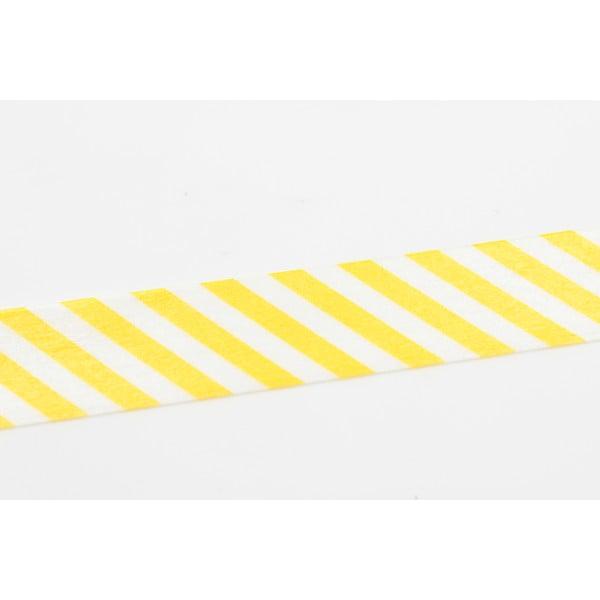 Washi páska Stripe Yellow