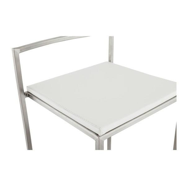 Barová židle s bílým sedákem Kokoon Meto, výškasedu74cm