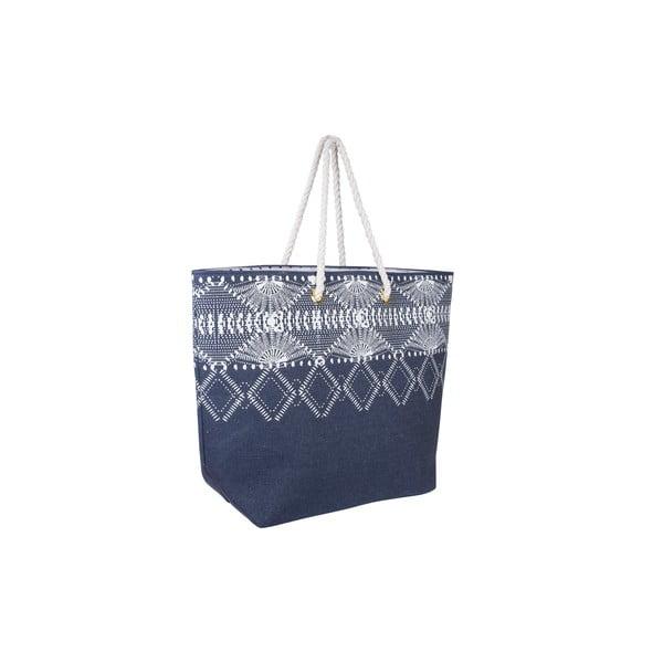 Plátěná taška Tri-Coastal Design Blue Symbols