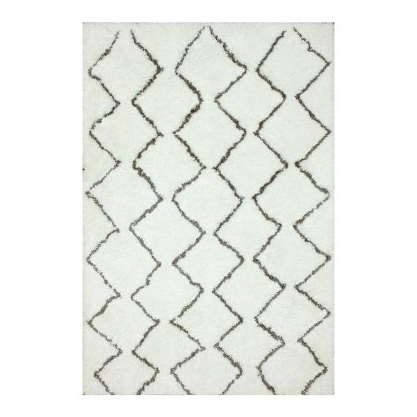 Ručně tuftovaný koberec nuLOOM Ziggy Natural, 106x168cm