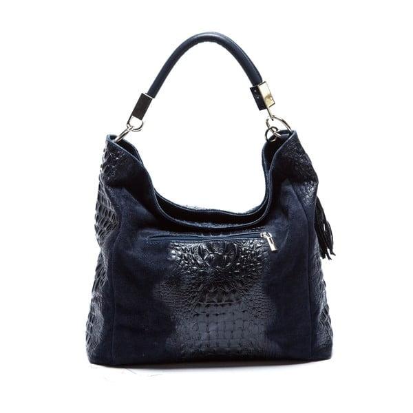 Modrá kožená kabelka Sofia Cardoni Belinda