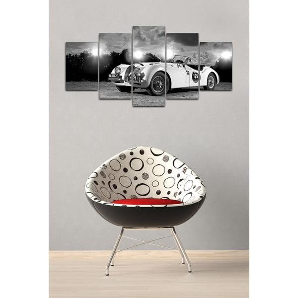 Vícedílný obraz Black&White no. 24, 100x50 cm