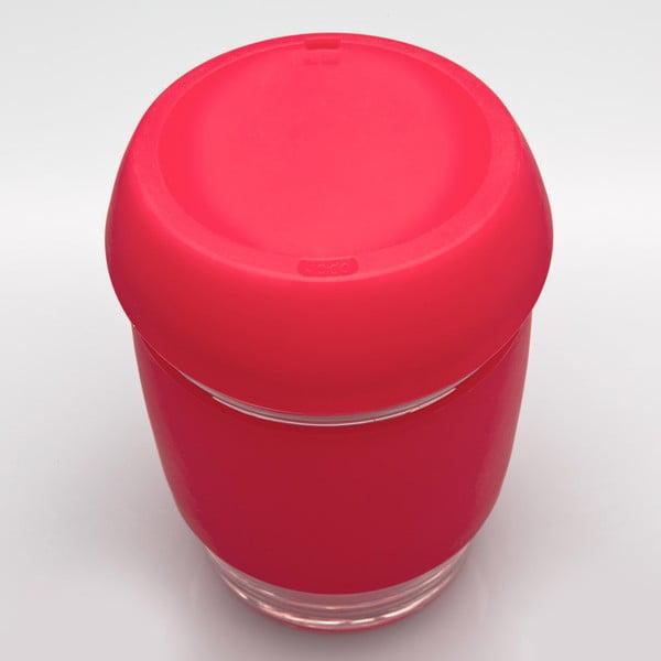 Cestovní hrnek na kávu Joco Cup 340 ml, červený