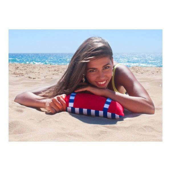 Plážový polštářek Origama Tomato Stripes