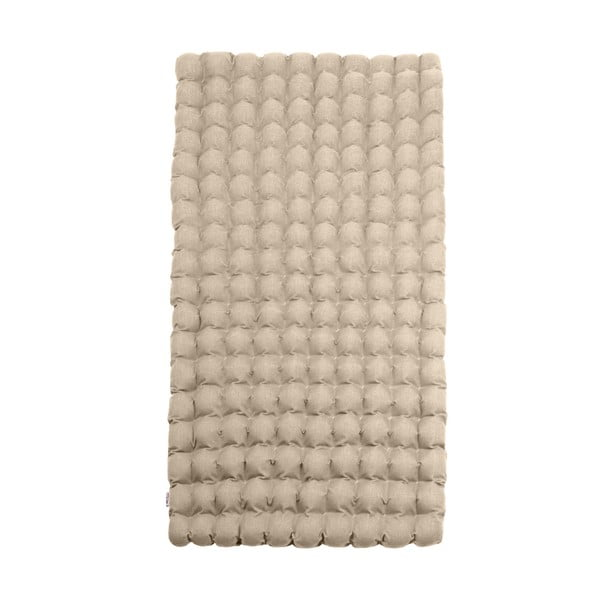 Beżowy relaksacyjny materac Linda Vrňáková Bubbles, 110x200 cm