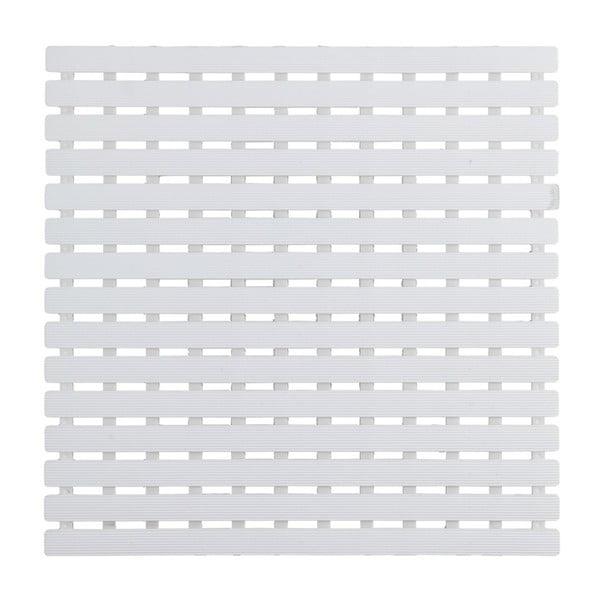 Bílá podložka do sprchového koutu Wenko Arinos, 54x54cm