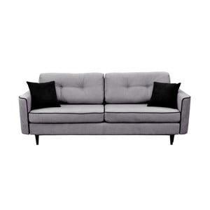 Canapea extensibilă Mazzini Sofas Magnolia, gri