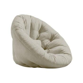Fotoliu extensibil Karup Design Nest Linen