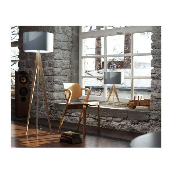 Stojací lampa Artista Birch/Light Green, 125x42 cm