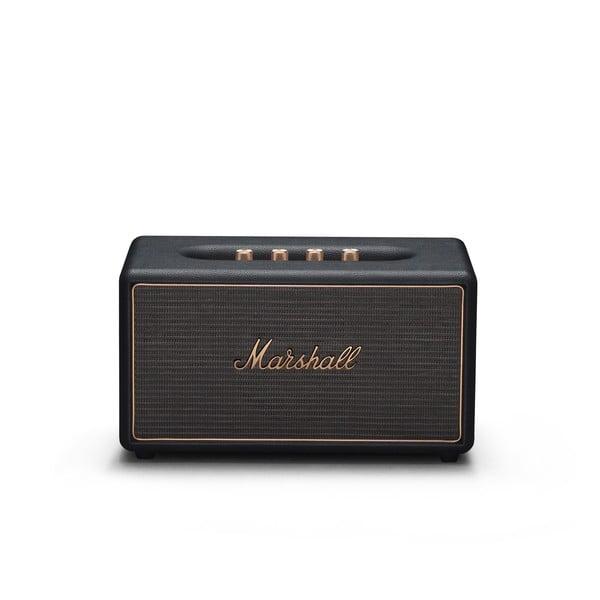 Czarny głośnik z funkcją Bluetooth Marshall Stanmore Multi-room