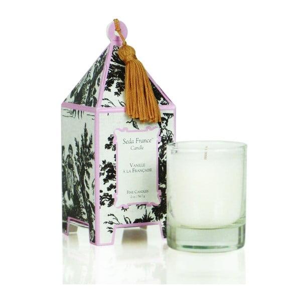 Sada 2 svíček Vanilla a la Francaise, 12-15 hodin hoření