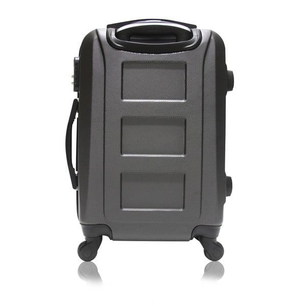 Sada 3 černých cestovních kufrů na kolečkách Hero Roma