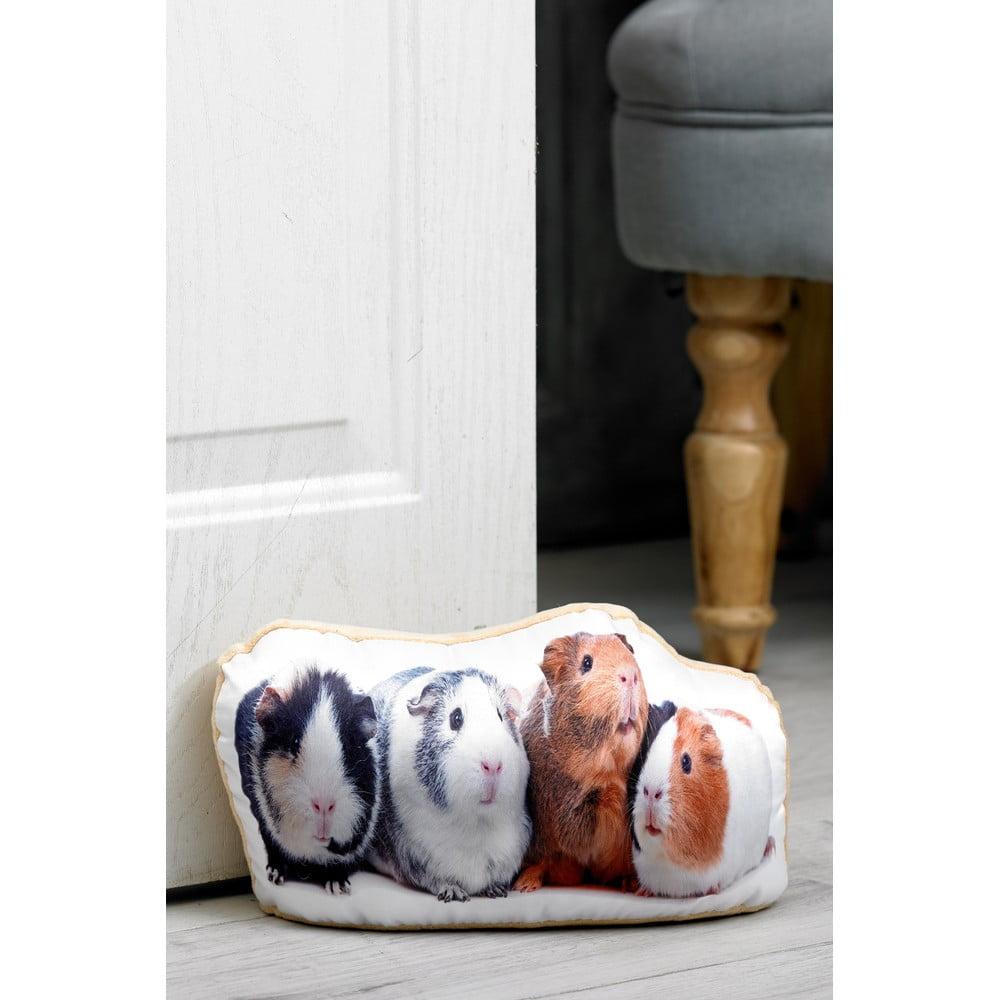 Zarážka do dveří s potiskem dvou morčat AdorableCushions