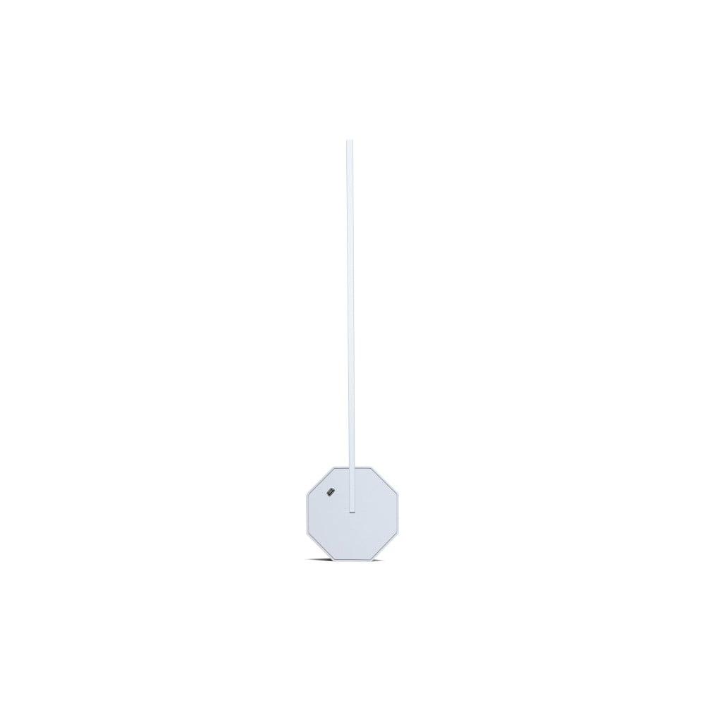 Bílá stolní lampa Gingko Octagon